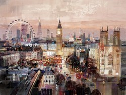 Golden Hour by Tom Butler - Limited Edition on Paper sized 48x36 inches. Available from Whitewall Galleries